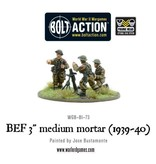 """Warlord Games British Early War 3"""" medium mortar"""