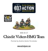 Warlord Games British Chindit Vickers MMG & Crew