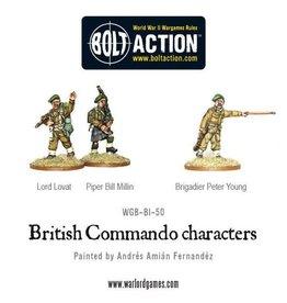 Warlord Games British Commando characters