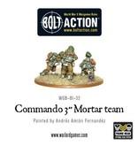 "Warlord Games British Commando 3"" mortar team"