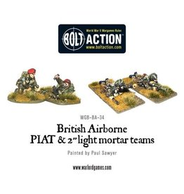 Warlord Games Airborne PIAT and Light Mortar team