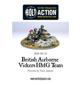Warlord Games Airborne Vickers HMG & Crew
