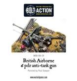 Warlord Games British Airborne 6 Pounder Anti Tank Gun & Crew