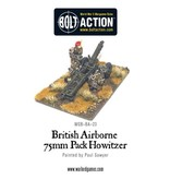 Warlord Games British Airborne 75mm Pack Howitzer & Crew