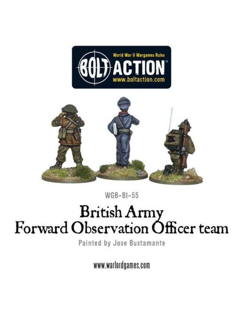 Warlord Games British Army Forward Observer Team