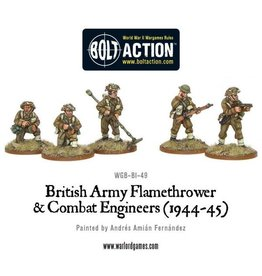 Warlord Games British Army Support Weapon Teams