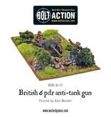 Warlord Games British Army 6 Pounder ATG & Crew