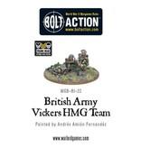 Warlord Games British Army Vickers HMG Team