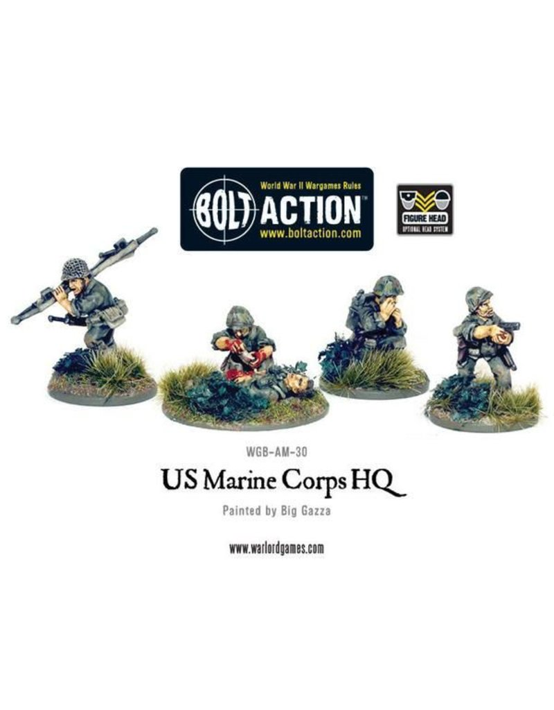 Warlord Games US Army Marine Corps Command