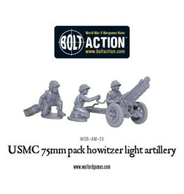 Warlord Games US 75mm pack howitzer light artillery
