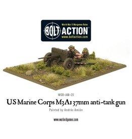 Warlord Games US M3A1 37mm anti-tank gun