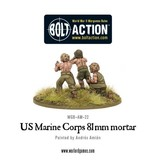 Warlord Games US Army Marine Corps  81mm mortar