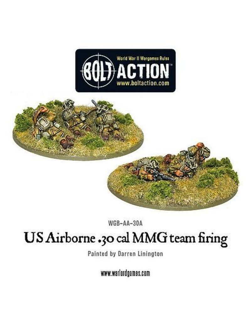 Warlord Games US Army Airborne 30cal team