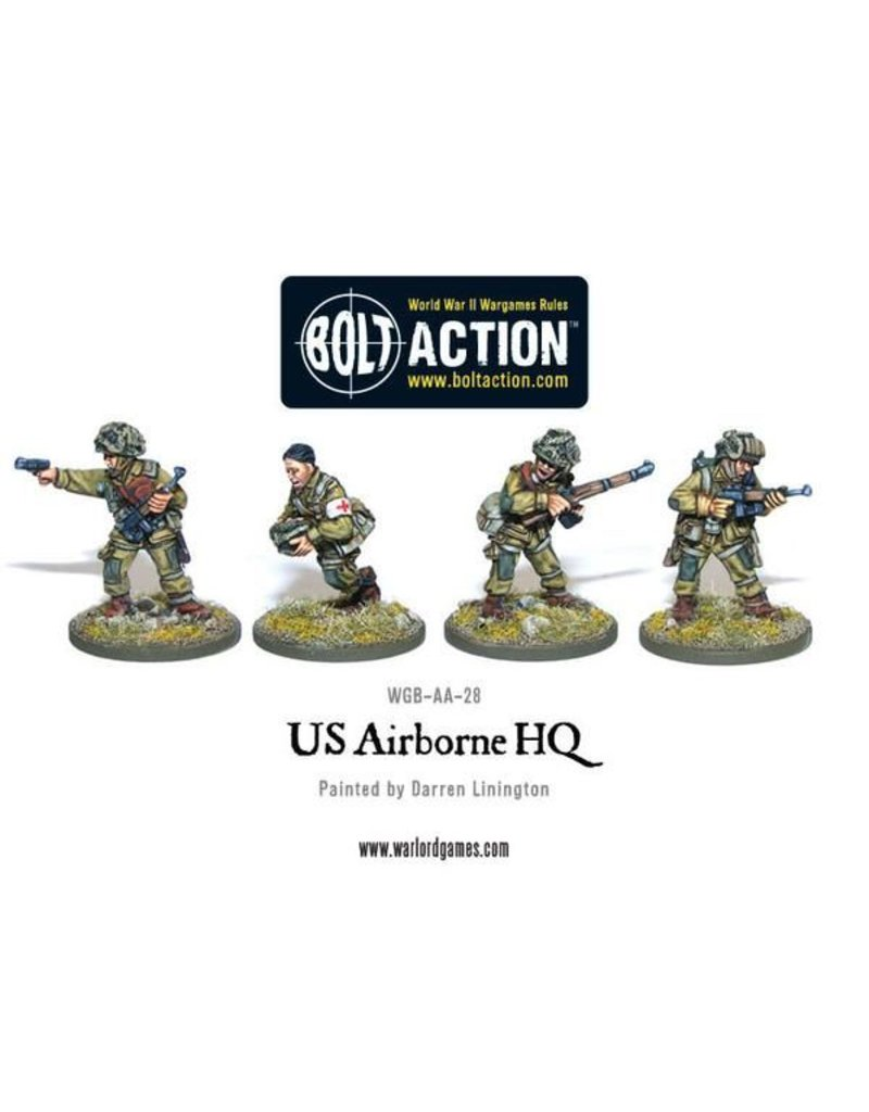 Warlord Games US Army Airborne Command