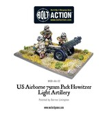 Warlord Games US Army Airborne 75mm Howitzer & Crew
