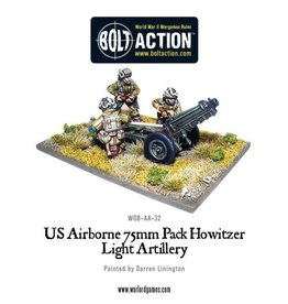 Warlord Games US Airborne 75mm Howitzer & Crew