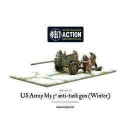 Warlord Games US M5 3-inch anti-tank gun (Winter)