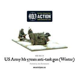 Warlord Games US  M1 57mm anti-tank gun (Winter)
