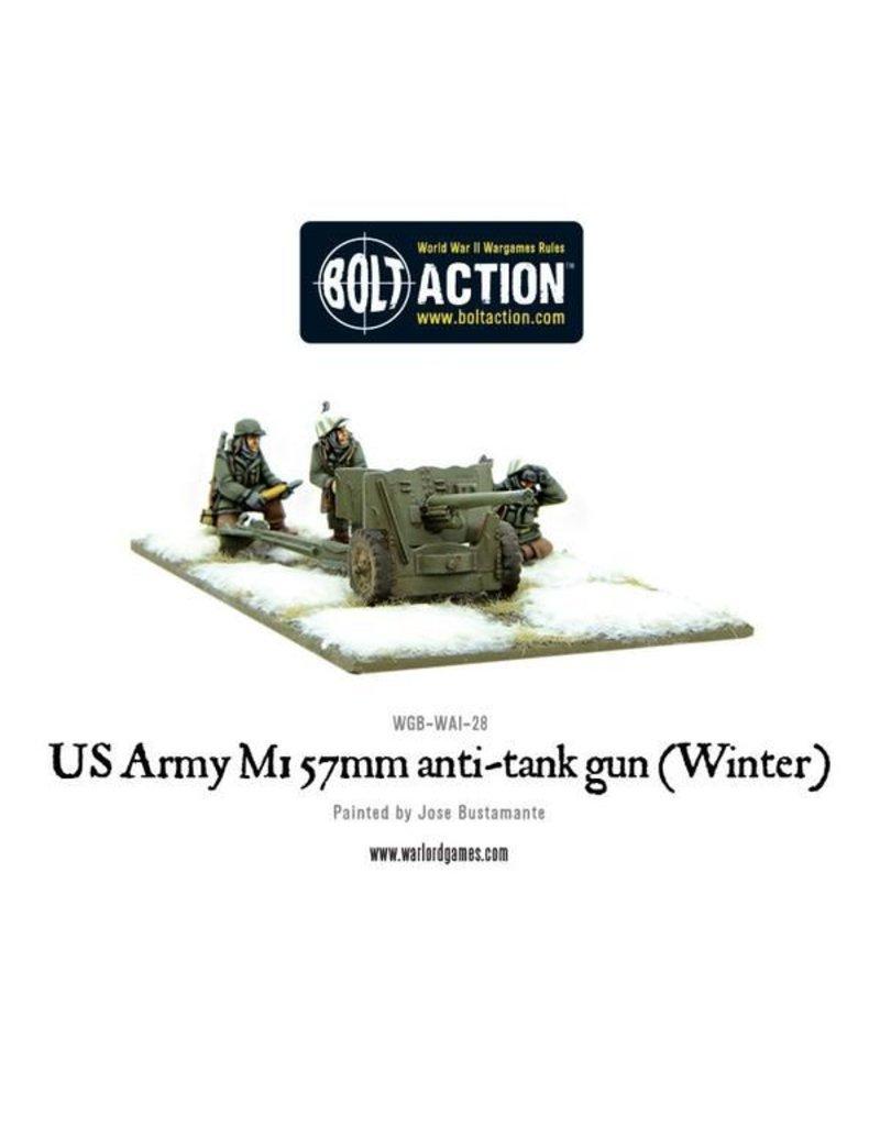 Warlord Games US Army M1 57mm anti-tank gun (Winter)