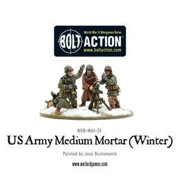 Warlord Games US Medium Mortar (Winter)