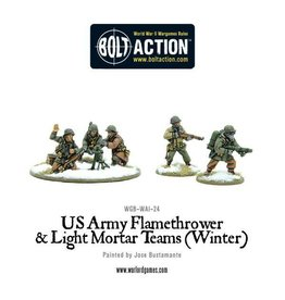 Warlord Games US Assault Weapon Teams (Winter)