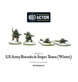 Warlord Games US Army Support Weapon Teams (Winter)