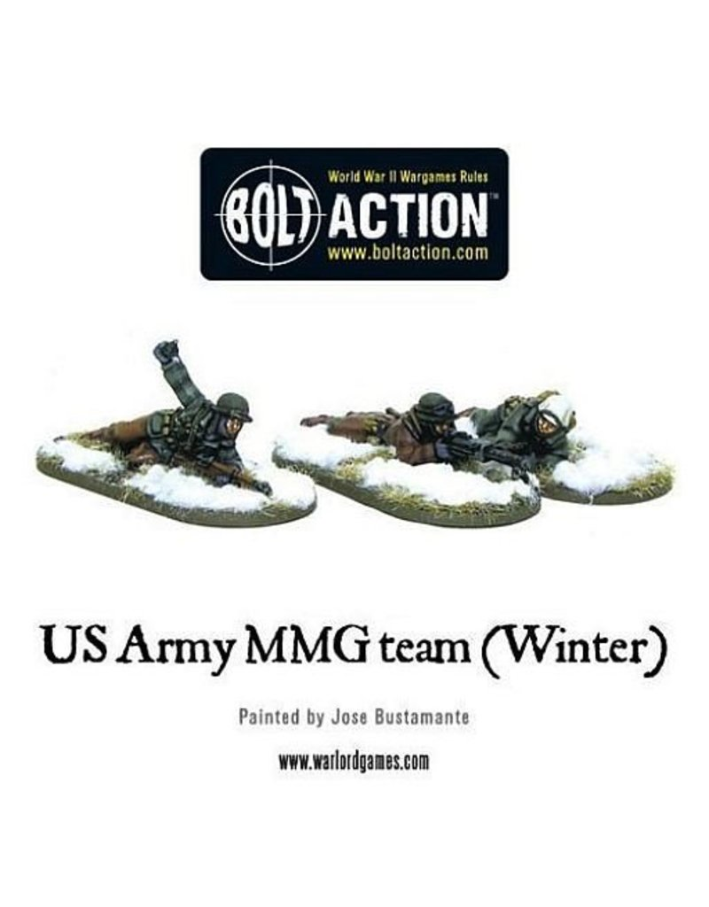 Warlord Games US Army MMG team (Winter)