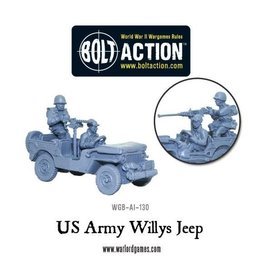 Warlord Games US Army Willys Jeep with stowage