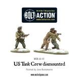 Warlord Games US Army Tank Crew dismounted