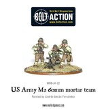 Warlord Games US Army 60mm mortar team