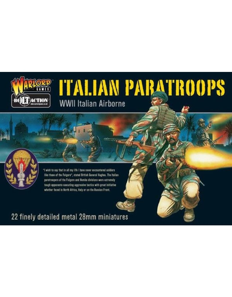 Warlord Games Italian Paratrooper Squad