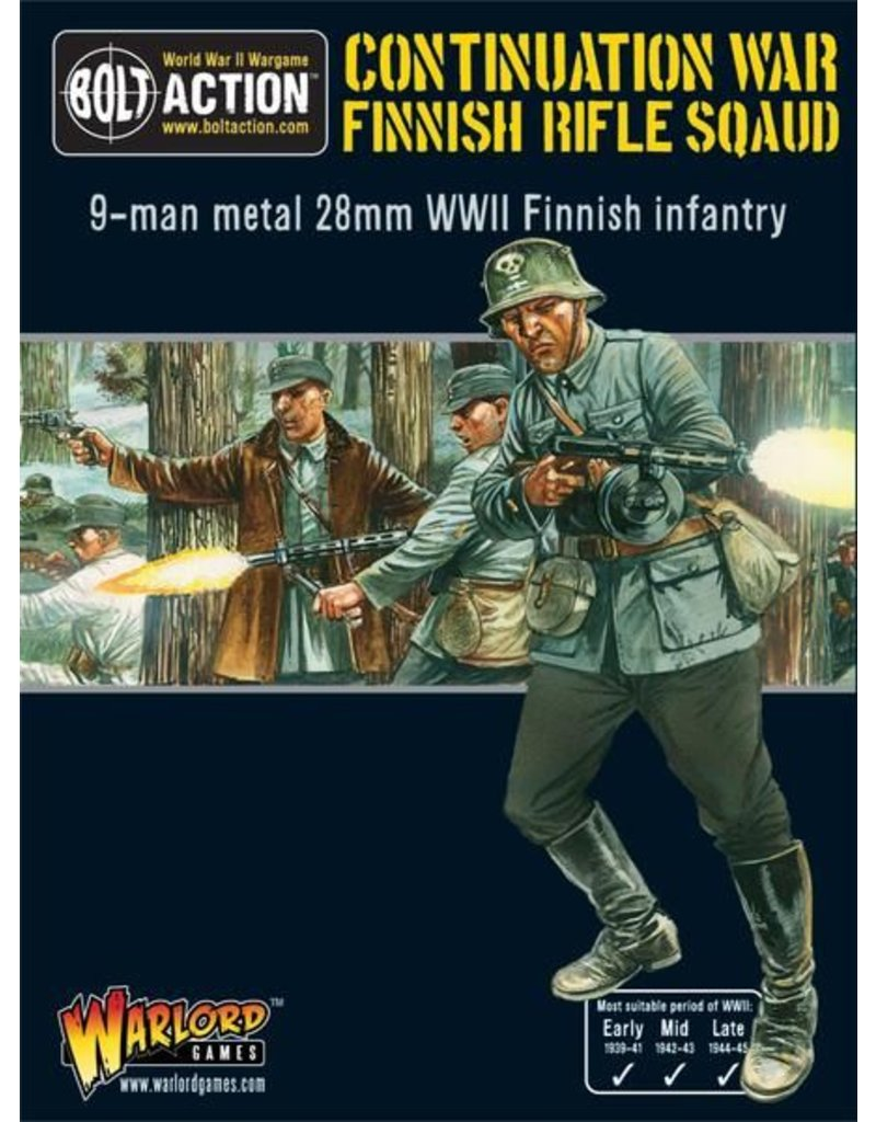 Warlord Games Finnish Infantry Rifle Squad (9)