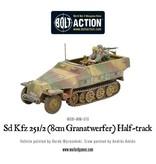 Warlord Games German Sd.Kfz 251/2 Ausf D (8cm Granatwerfer) Half Track