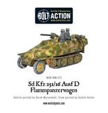 Warlord Games German Sd.Kfz 251/16 Ausf D Flammpanzerwagen