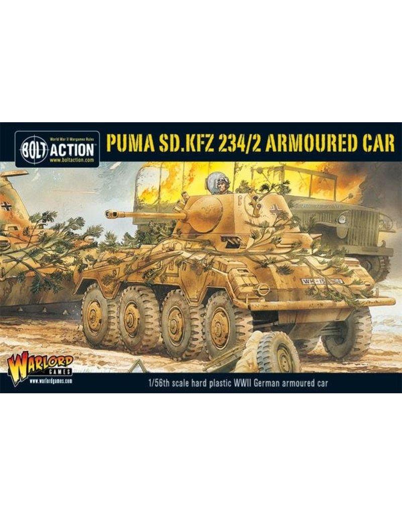 Warlord Games German Puma Sd.Kfz 234/2 Armoured Car