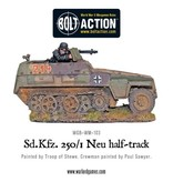 Warlord Games German Sd.Kfz 250/1 - Neu Halftrack Box Set