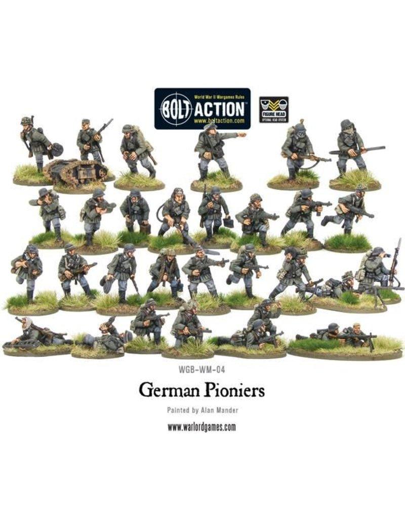 Warlord Games German Pioners Assault Engineers