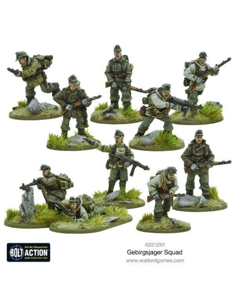Warlord Games German Gebirgsjager squad