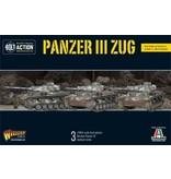Warlord Games German Panzer III Zug (3)