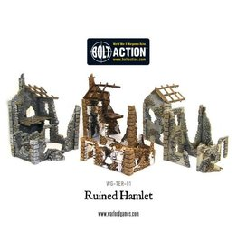Warlord Games Ruined Hamlet (3x buildings)