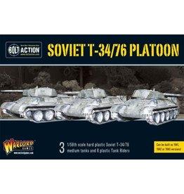 Warlord Games T34/76 Medium Tank Platoon