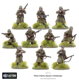 Warlord Games Polish Infantry in greatcoats