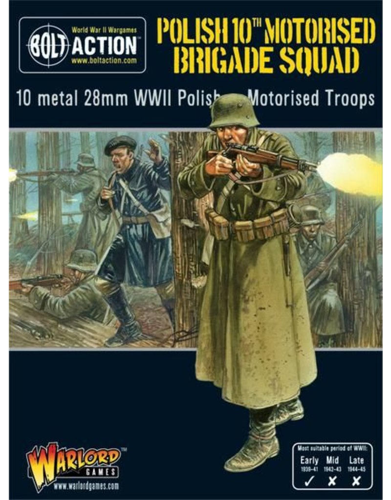 Warlord Games Polish 10th Motorised Brigade Squad