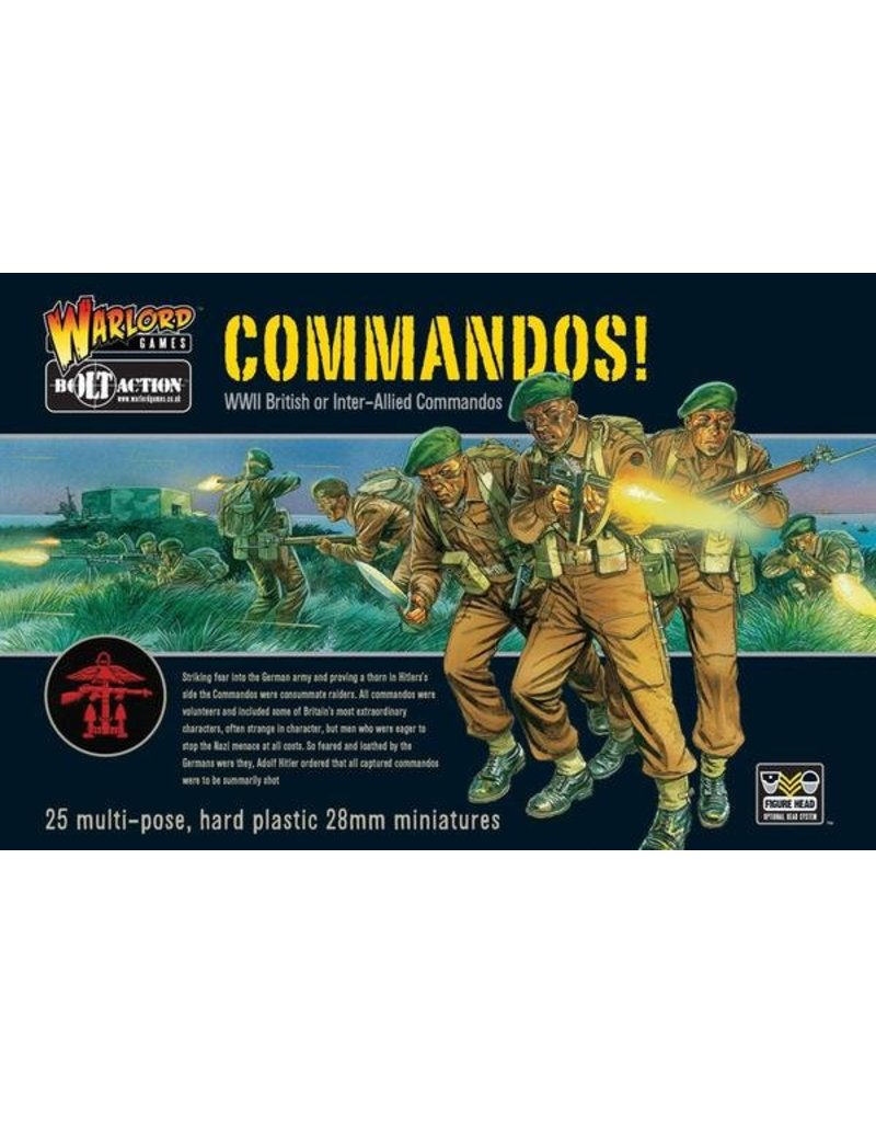 Warlord Games Allied Commandos!