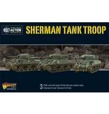 Warlord Games British Sherman V Troop (2 Sherman V and 1 Firefly)