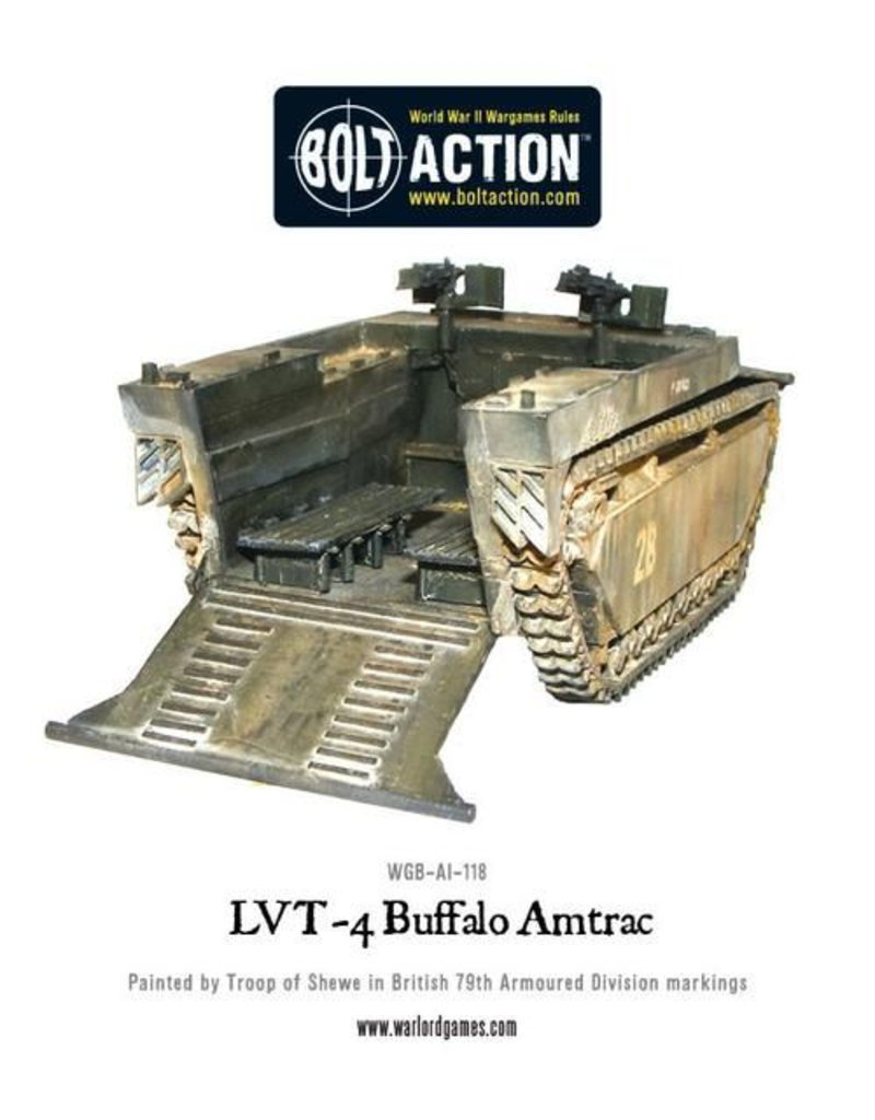 Warlord Games Allied LVT-4 'Buffalo' Amtrac Amphibious Carrier