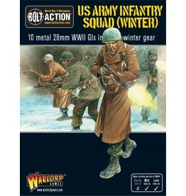 Warlord Games Army Infantry Squad in Winter Clothing