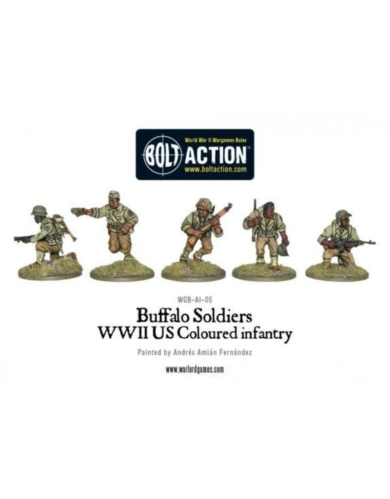 Warlord Games US Army Buffalo Soldiers