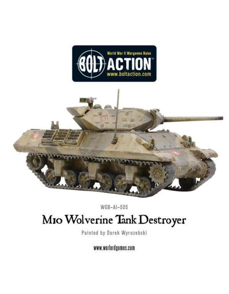 Warlord Games US Army M10 Tank Destroyer Platoon