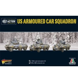 Warlord Games M8/M20 Greyhound Scout Car Squadron